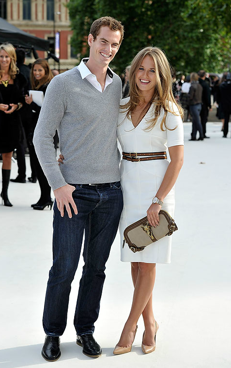 Andy Murray's Girlfriend | Photo Source: Getty Images