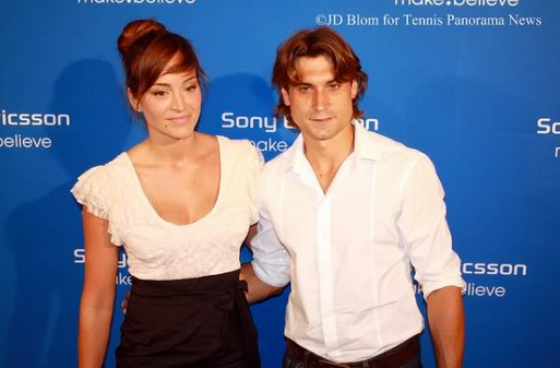David Ferrer's Girlfriend | Photo Source: Getty Images