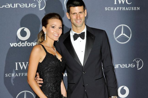 Novak Djokovic's Girlfriend | Photo Source: Getty Images