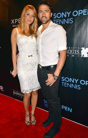 Janko Tipsarevic's Girlfriend | Photo Source: Getty Images