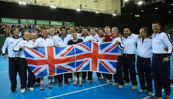 Team GB Davis Cup