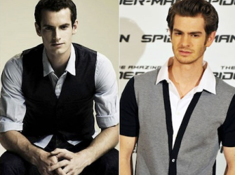 Andy Murray | Andrew Garfield
