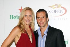Stepanek With Nicole Vaidisova