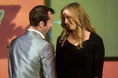 Stepanek With Petra Kvitova