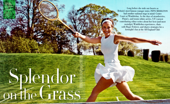 Pippa Middleton Tennis