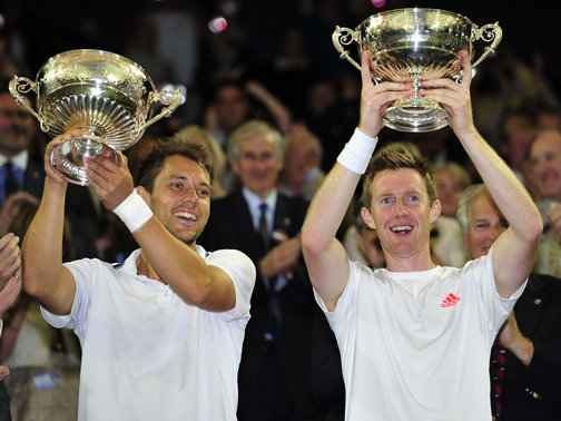 Freddie Nielson and Jonny Marray
