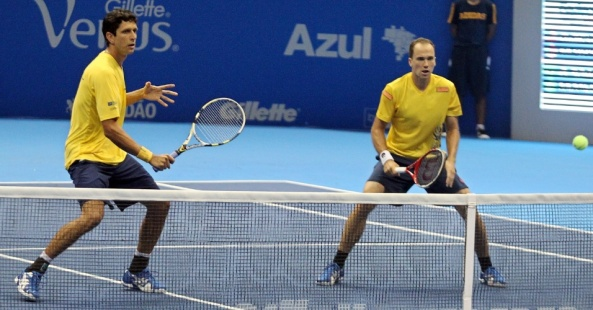 Marcelo Melo and Bruno Soares